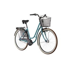 Ortler Sanfjord - Bicicleta urbana Mujer - Azul petróleo
